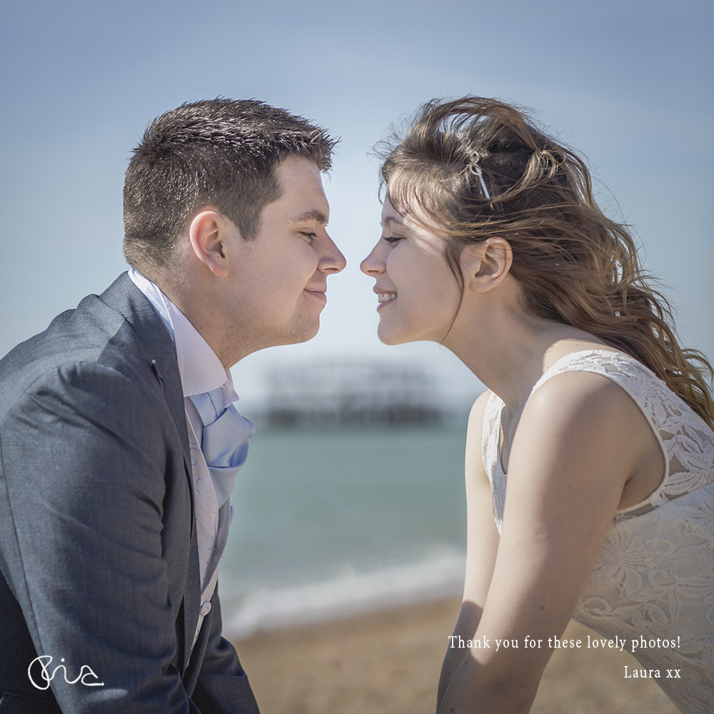 Brighton Wedding Photo