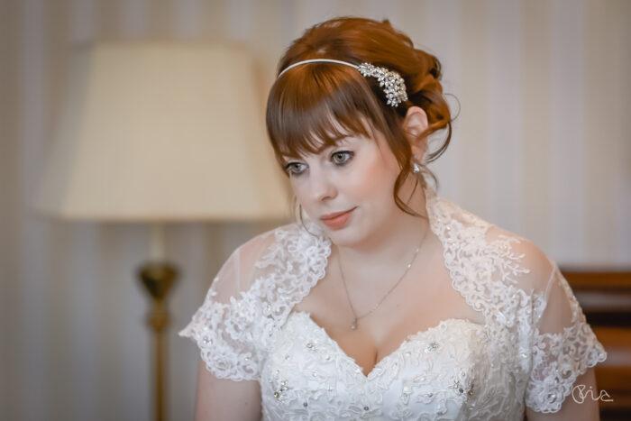 Bridal prep at Grand Hotel Eastbourne wedding