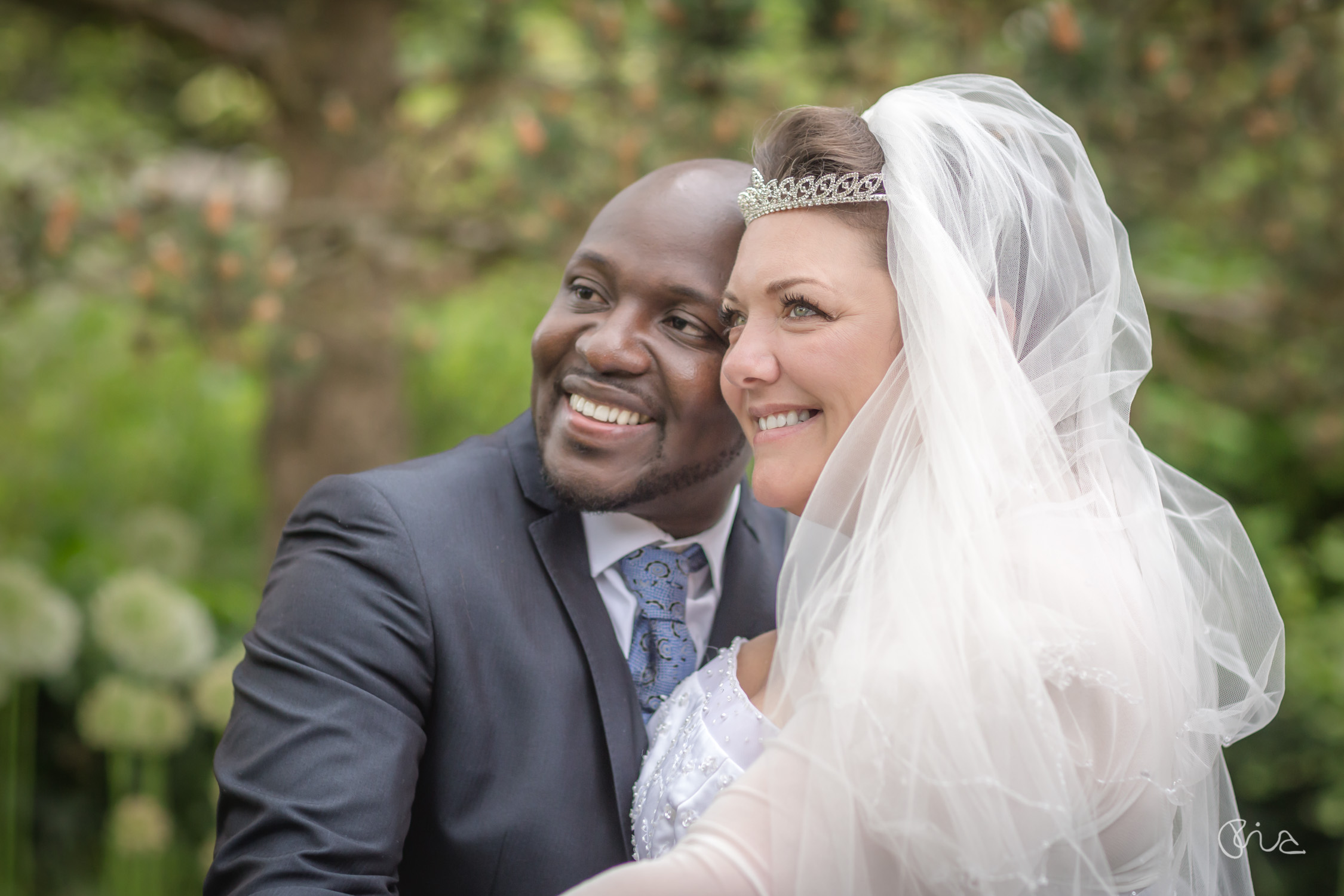 English-African Wedding in East Sussex