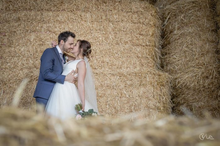 Essex wedding couple shot
