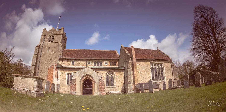 All Saints' Church in Ashdon, Esssex
