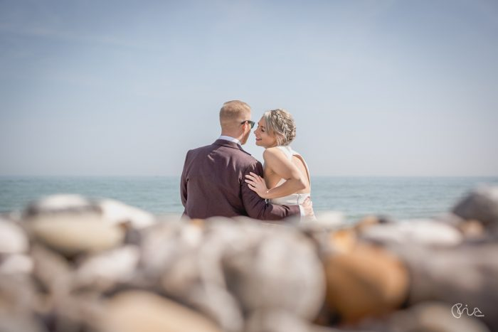 Eastbourne wedding couple image