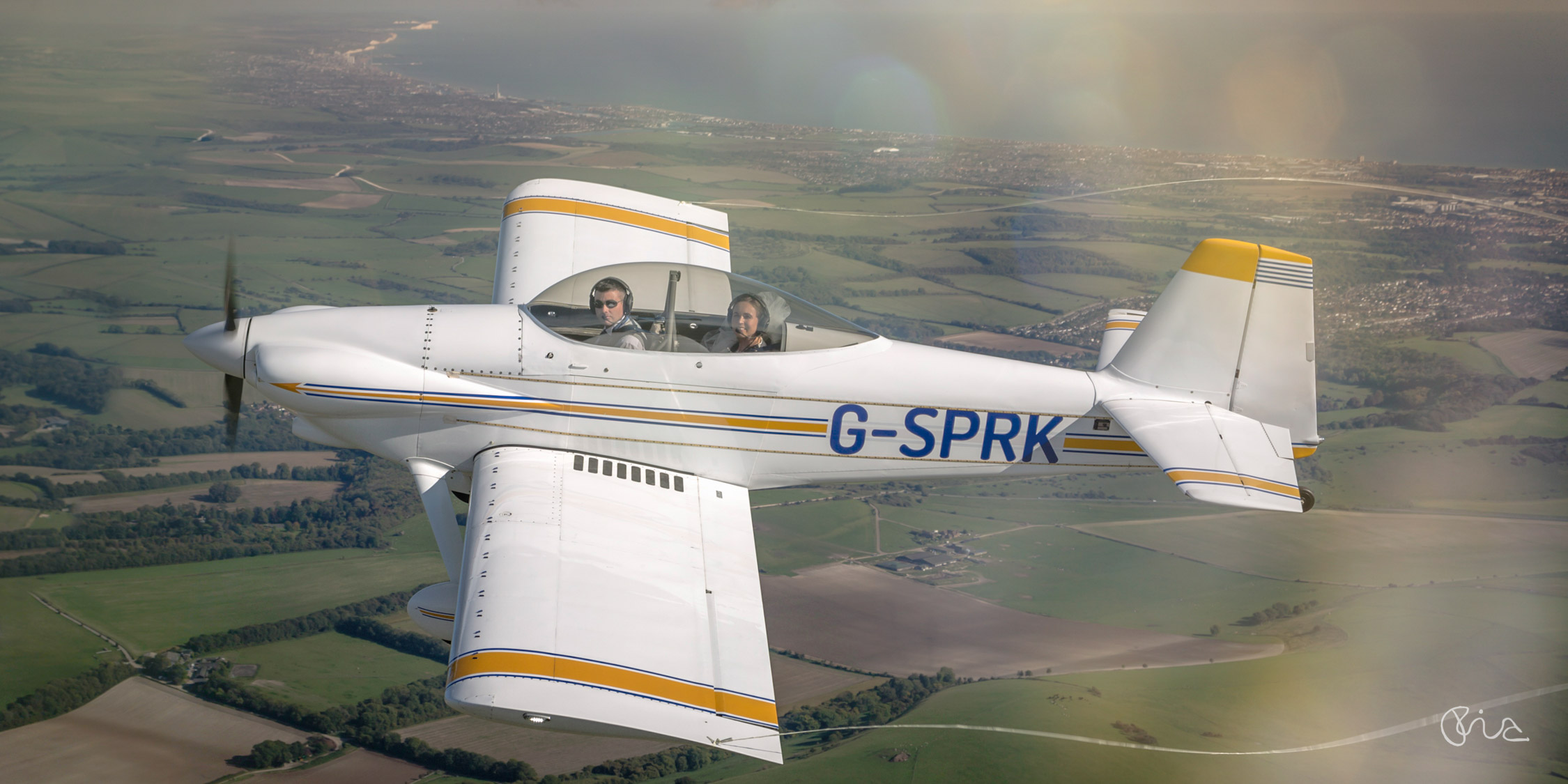 Pilot Wedding in Sussex