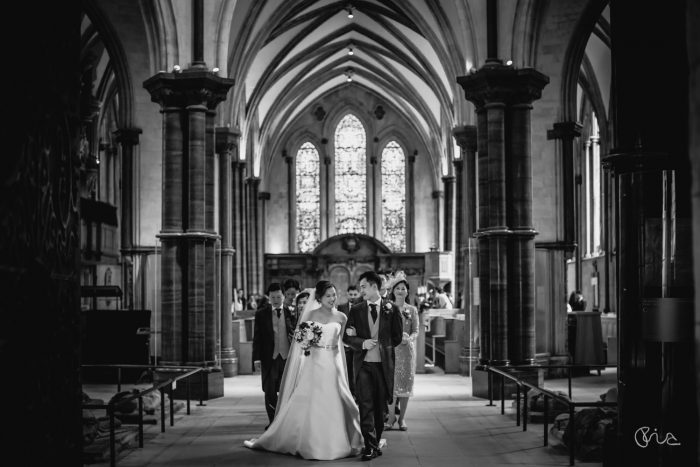 Chinese wedding at Temple Church in London
