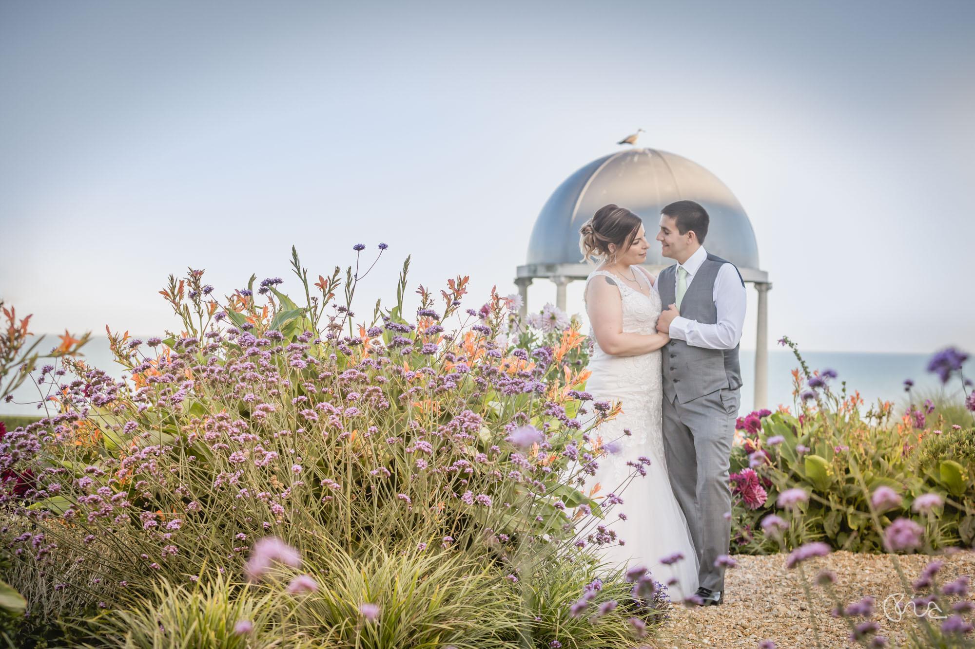 Hydro Hotel wedding