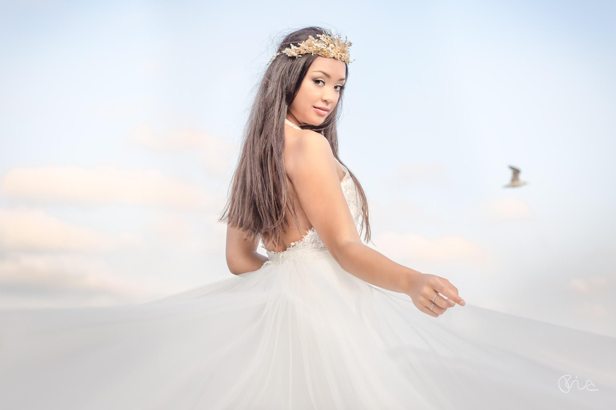 Bridal styled shoot in Eastbourne