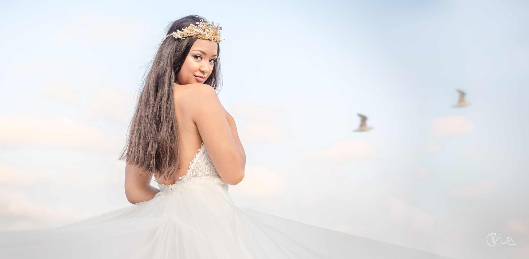 Bridal styled photoshoot in Eastbourne