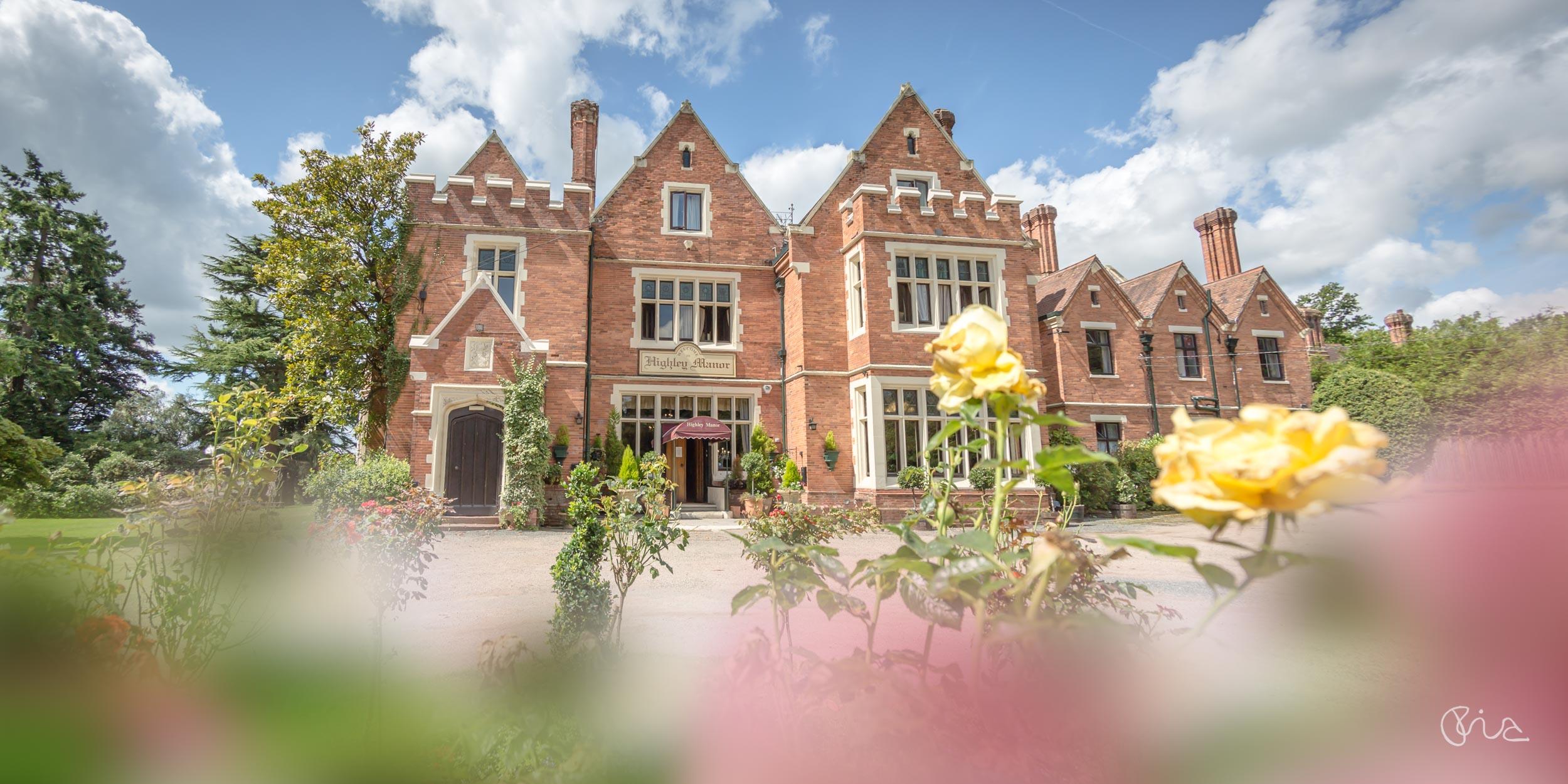 Highley Manor wedding venue