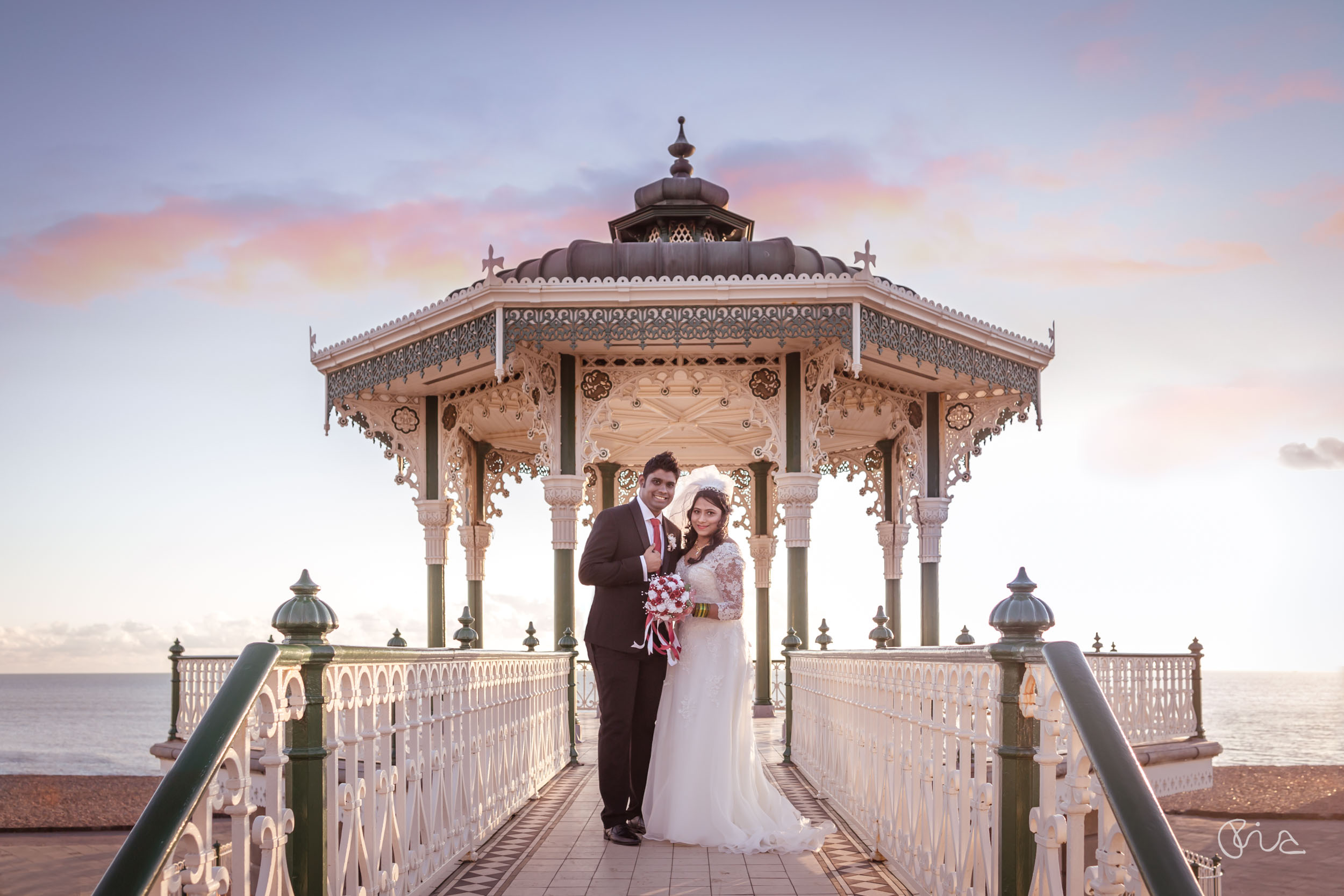 Indian wedding in Brighton