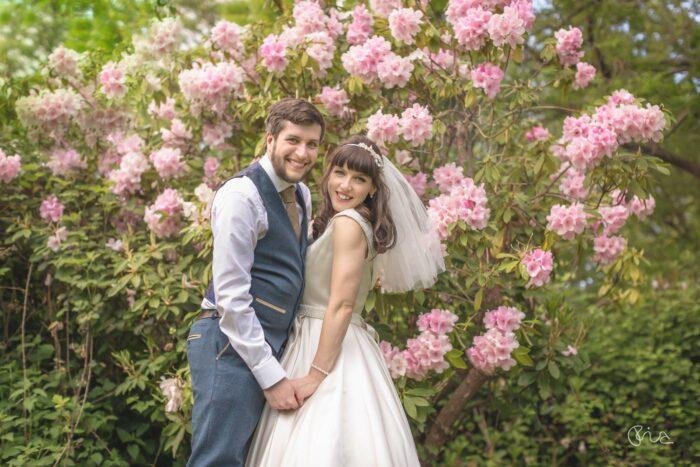 Bride and Groom at Robert Denholm House Weddings