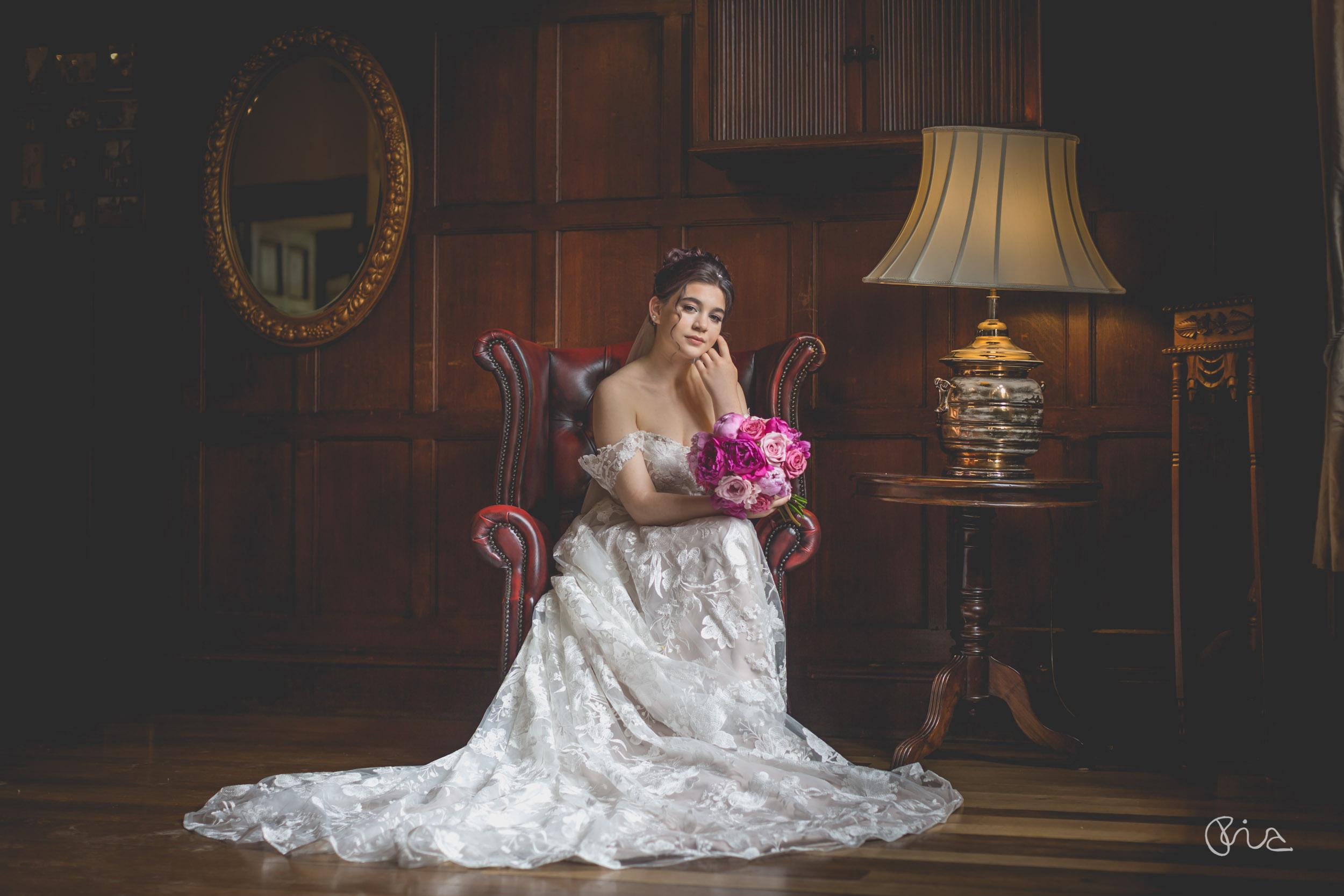 Bride at Highley manor
