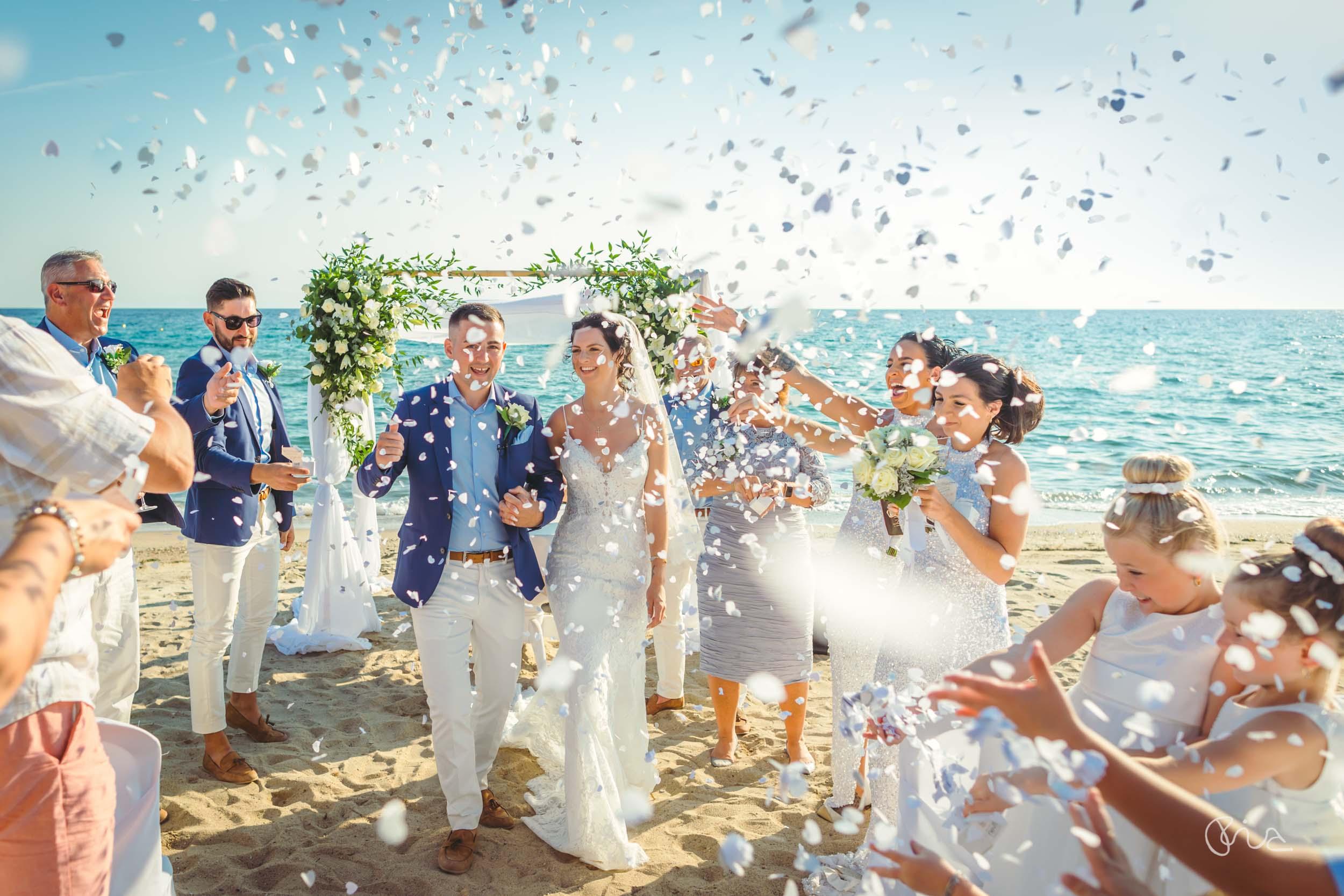 Ikos Oceania wedding